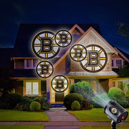 Boston Bruins Team Pride Projection Light