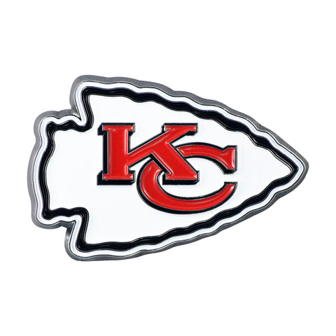 Kansas City Chiefs Metal Auto Emblem - Color