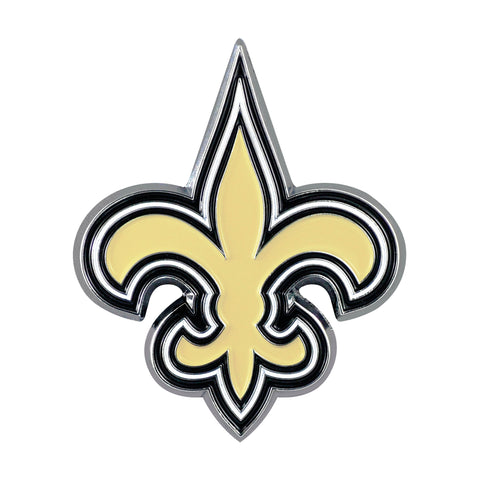 New Orleans Saints Metal Auto Emblem - Color
