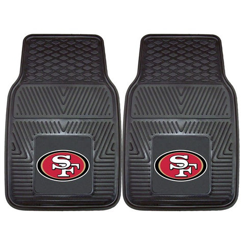 San Francisco 49ers Front Vinyl Car Mats