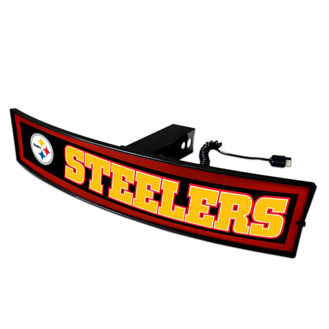 Pittsburgh Steelers Light Up Hitch Cover