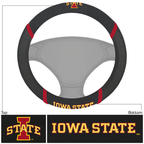 Iowa State Cyclones Deluxe Steering Wheel Cover