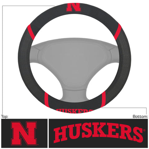 Nebraska Cornhuskers Deluxe Steering Wheel Cover