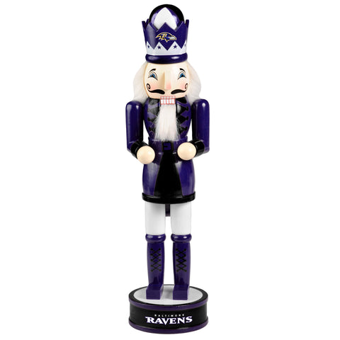 "Baltimore Ravens 14"" Team Nutcracker"