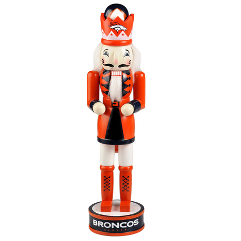 "Denver Broncos 14"" Team Nutcracker"