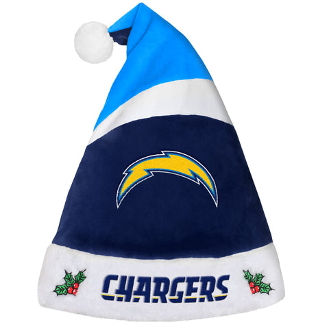 Los Angeles Chargers Basic Santa Hat