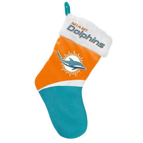 Miami Dolphins Basic Santa Stocking