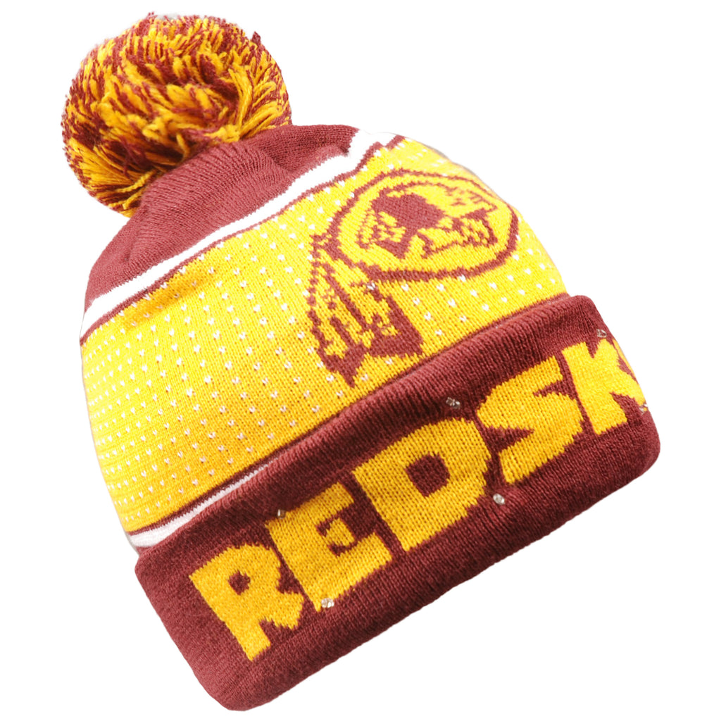 Washington Redskins Big Logo Full Knit Light Up Beanie