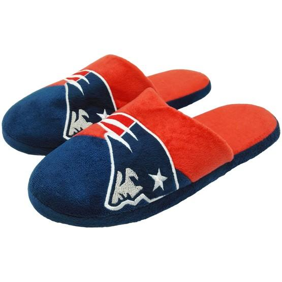 New England Patriots 1 Dozen Colorblock Slide Slippers
