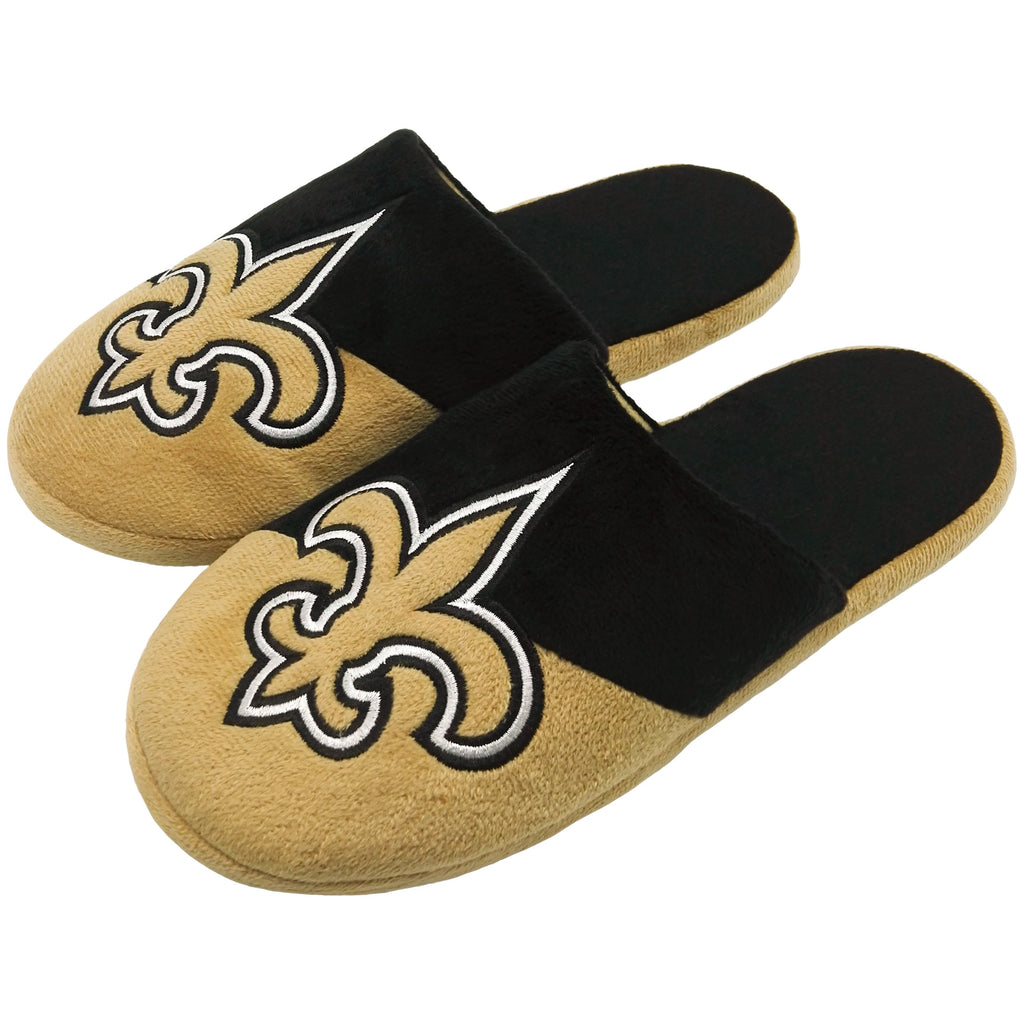 New Orleans Saints 1 Dozen Colorblock Slide Slippers