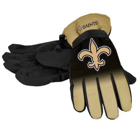 New Orleans Saints 1 Dozen Gradient Big Logo Insulated Gloves