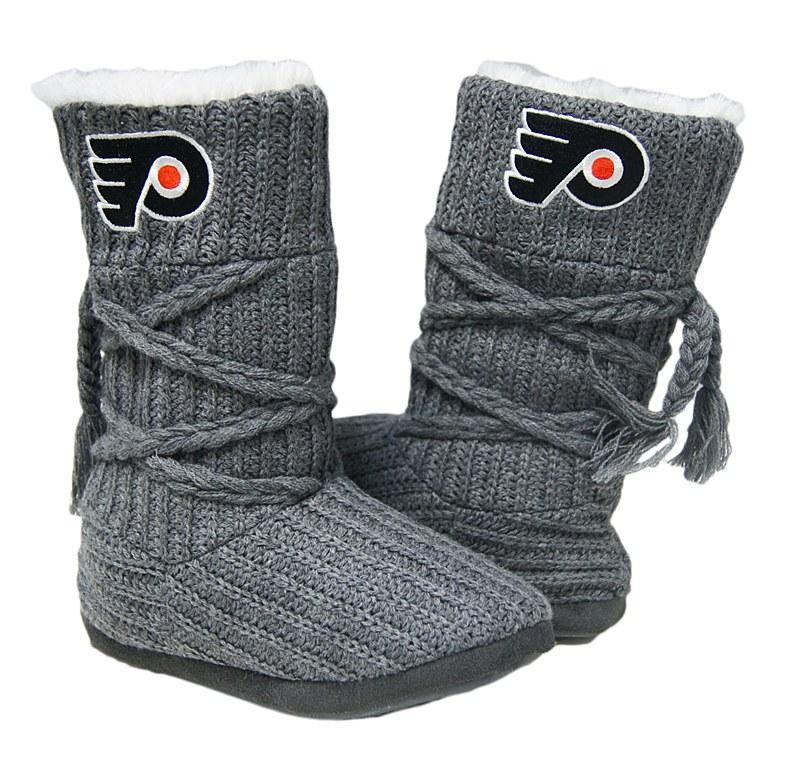 1 Dozen Gray Knit Boots
