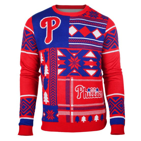 Philadelphia Phillies 1Dz Patches Ugly Sweater