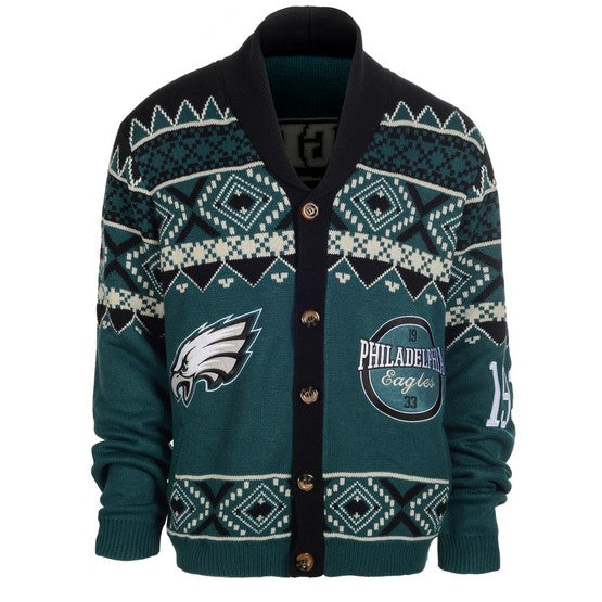 Philadelphia Eagles 1Dz Ugly Cardigan Sweat