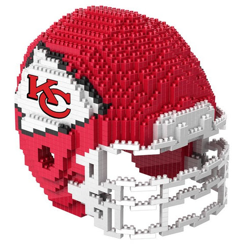 Kansas City Chiefs 3D Helmet Puzzle BRXLZ