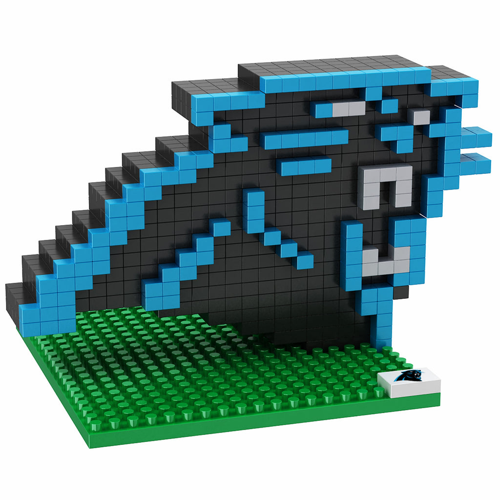 Carolina Panthers 3D Logo Puzzle BRXLZ