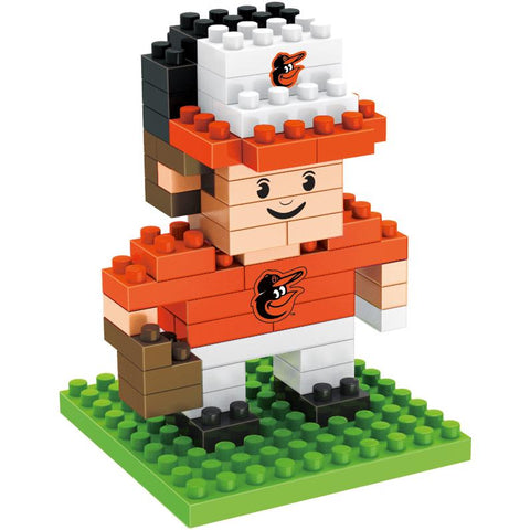 Baltimore Orioles 3D Player Puzzle BRXLZ