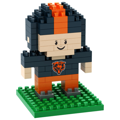 Chicago Bears 3D Player Puzzle BRXLZ