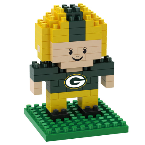 Green Bay Packers 3D Player Puzzle BRXLZ