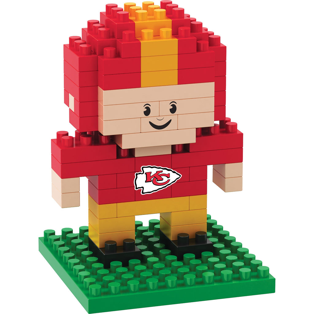 Kansas City Chiefs 3D Player Puzzle BRXLZ