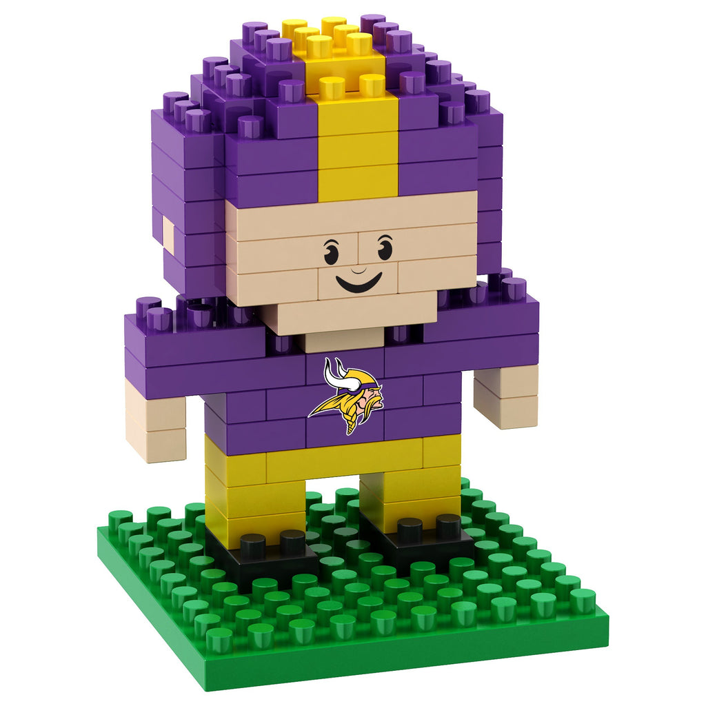 Minnesota Vikings 3D Player Puzzle BRXLZ