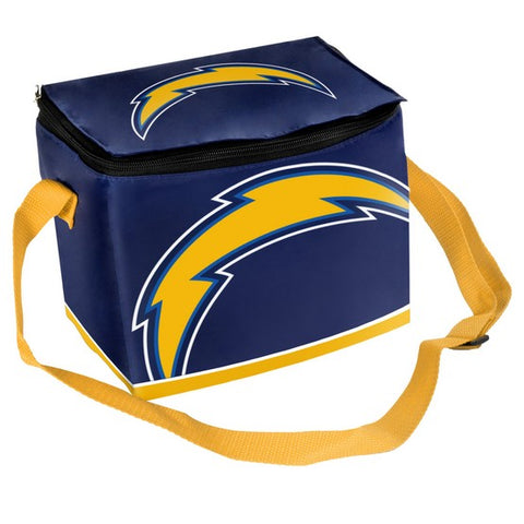 Los Angeles Chargers 6pk Big Logo Lunch Bag