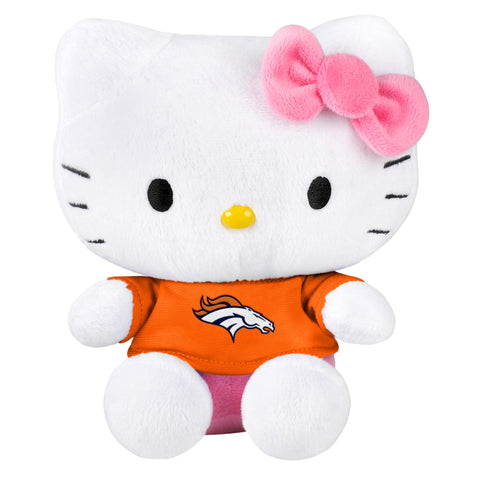 "Denver Broncos 8"" Hello Kitty Plush"
