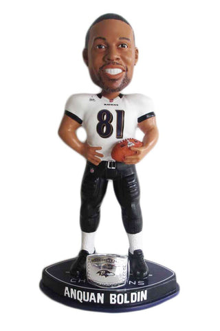 Baltimore Ravens Bobble Head SB Champ Raven