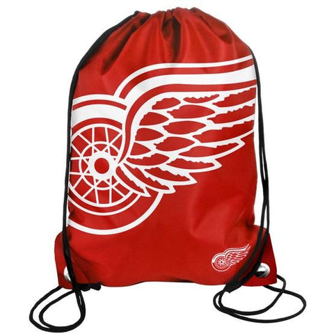 Detroit Red Wings Big Logo Drawstring Bag
