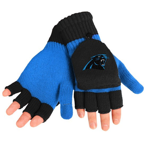 Carolina Panthers Big Logo Flip Top Glove
