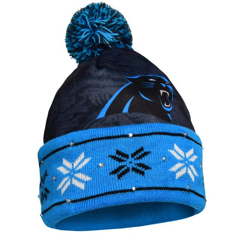 Carolina Panthers Big Logo Light Up Knit