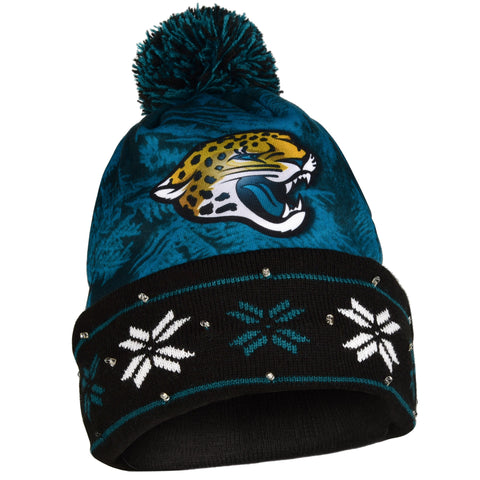 Jacksonville Jaguars Big Logo Light Up Knit