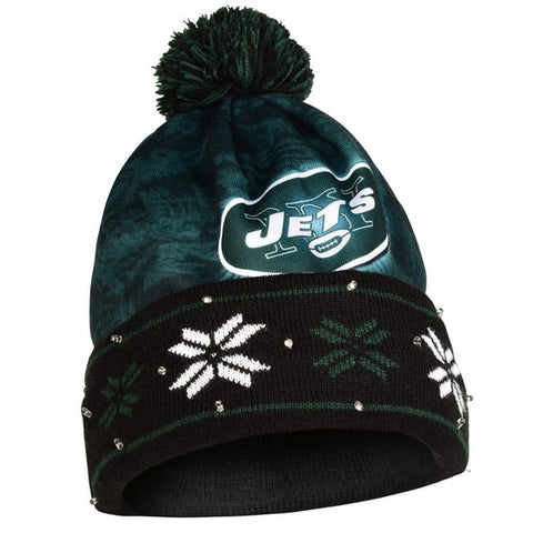 New York Jets Big Logo Light Up Knit