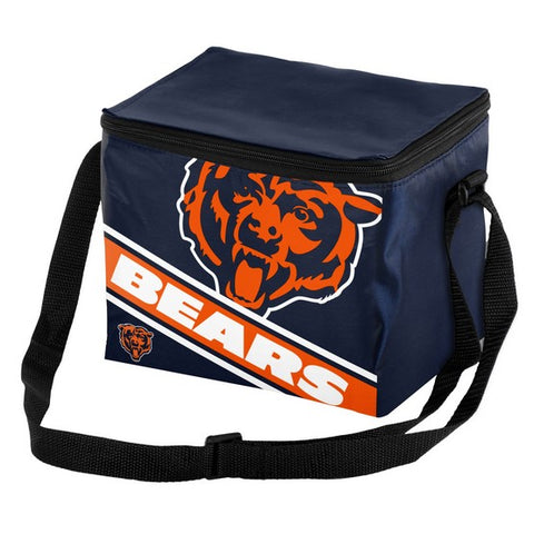 Chicago Bears Big Logo Stripe 6pk Lunch Bag