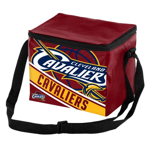 Cleveland Cavaliers Big Logo Stripe 6pk Lunch Bag