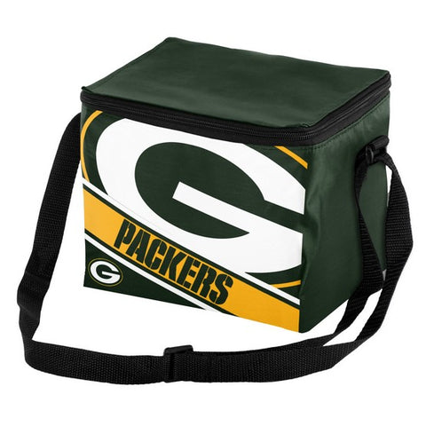 Green Bay Packers Big Logo Stripe 6pk Lunch Bag