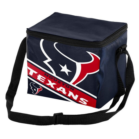 Houston Texans Big Logo Stripe 6pk Lunch Bag
