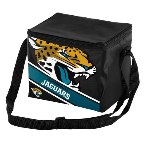 Jacksonville Jaguars Big Logo Stripe 6pk Lunch Bag