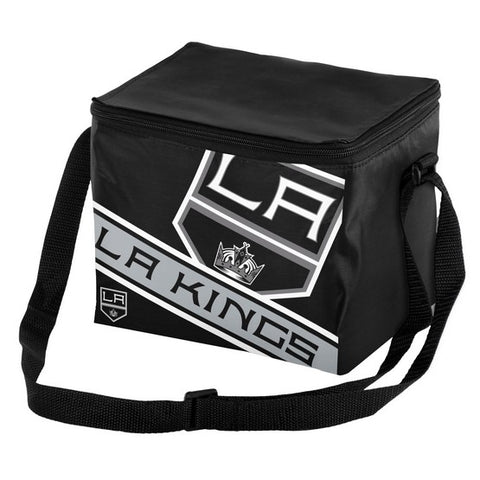 Los Angeles Kings Big Logo Stripe 6pk Lunch Bag