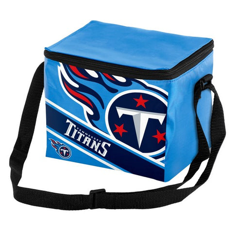 Tennessee Titans Big Logo Stripe 6pk Lunch Bag