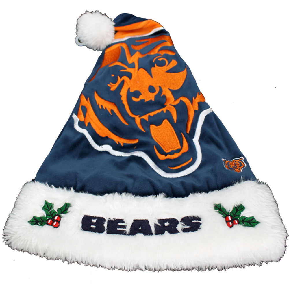 Chicago Bears Big Logo Santa Hat