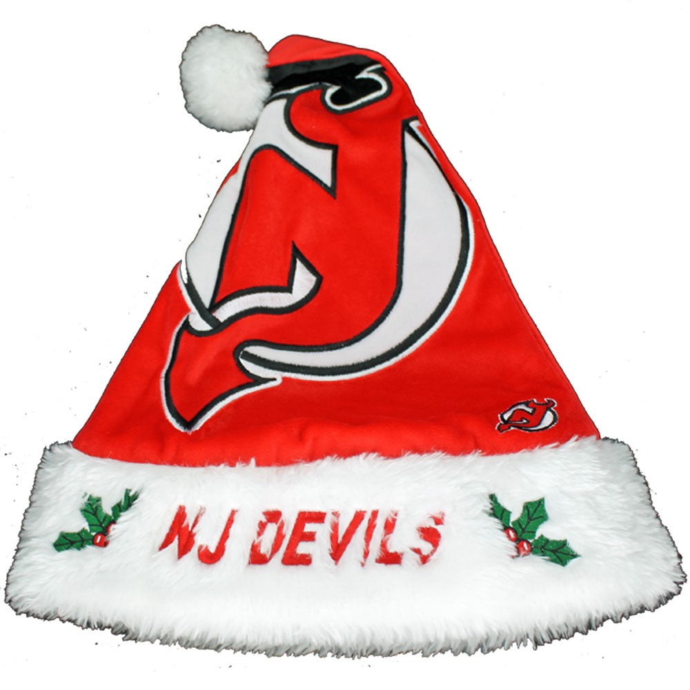 New Jersey Devils Big Logo Santa Hat