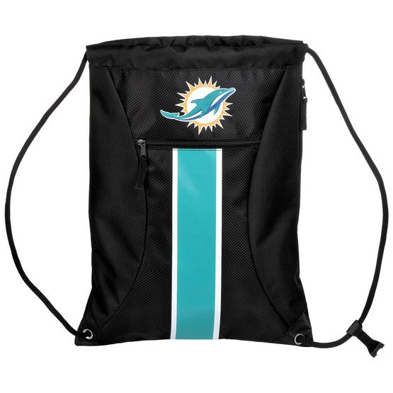 Miami Dolphins Big Stripe Zipper Draw