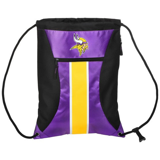 Minnesota Vikings Big Stripe Zipper Draw