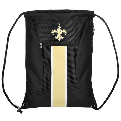 New Orleans Saints Big Stripe Zipper Draw