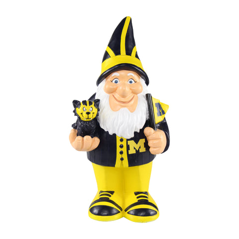 Michigan Wolverines Caricature Gnome