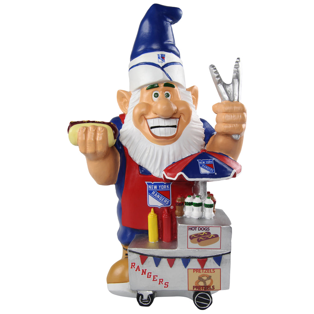 New York Rangers Caricature Gnome