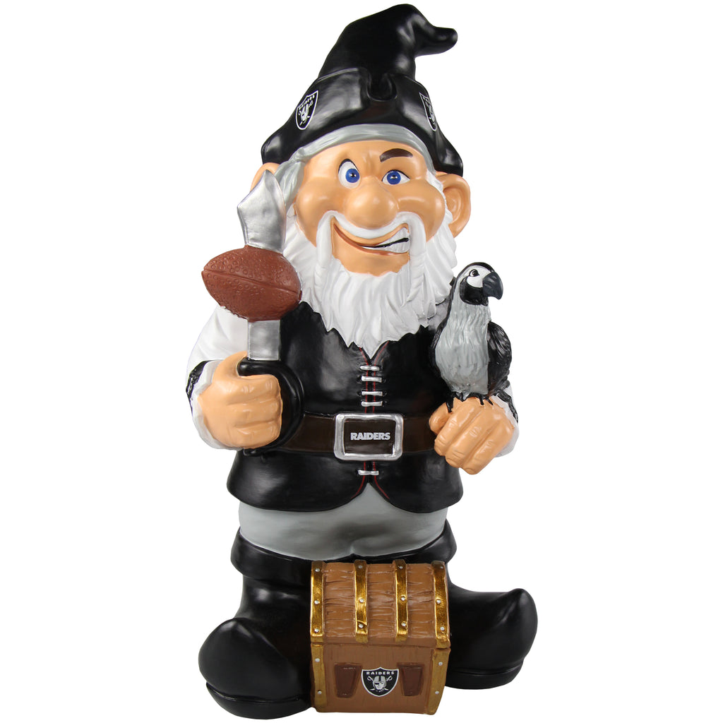 Oakland Raiders Caricature Gnome