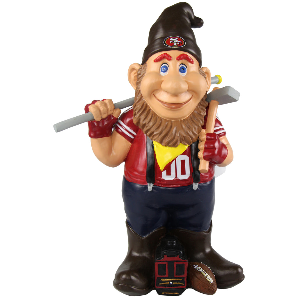 San Francisco 49ers Caricature Gnome