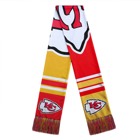 Kansas City Chiefs Color Block Big Logo Scarf